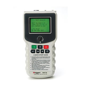 Megger TTR25 - TTR25 Hand-held Transformer Turns Ratio Tester