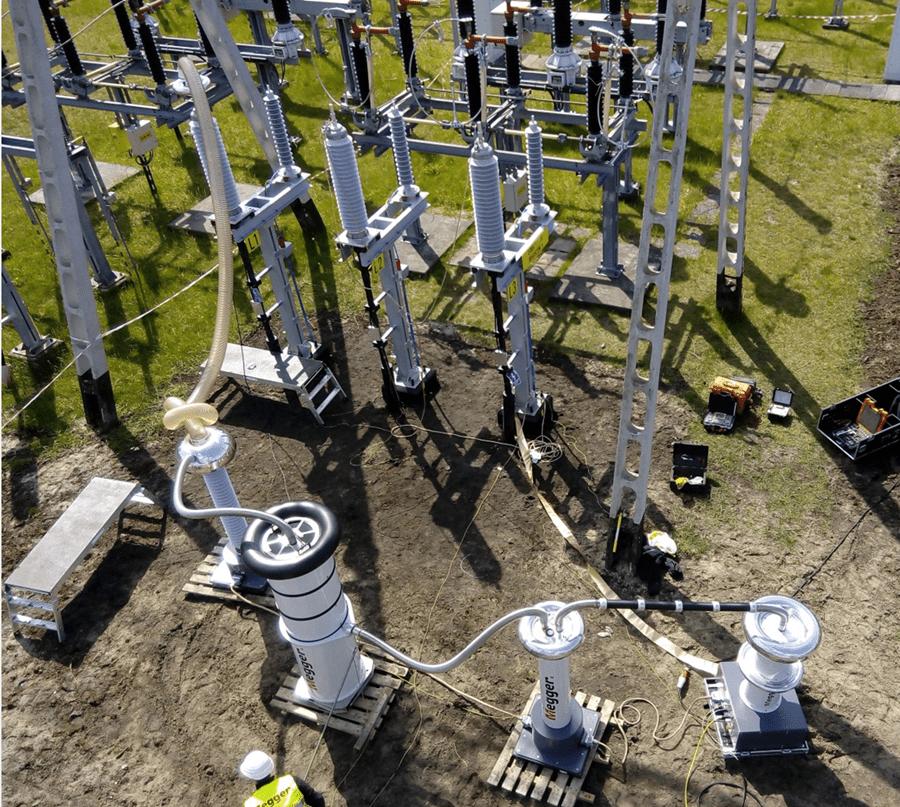 Badania odbiorcze linii kablowych 110kV