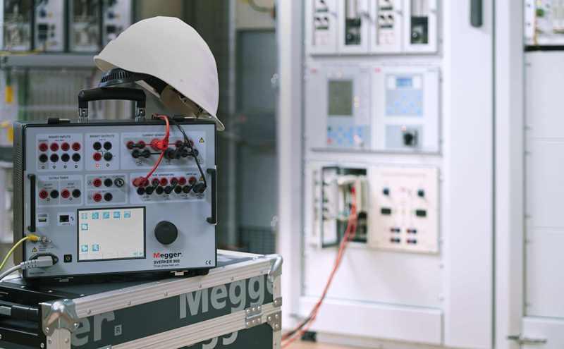 Testowanie działania przekaźników Sverker900