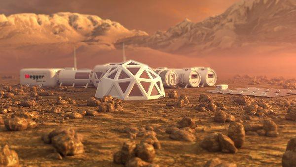 Megger på Mars.
