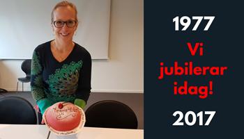 Vi firar 40-års jubileum