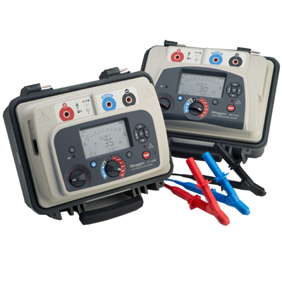 Driftsäkra Isolationsprovare: 15 kV DC