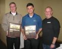 Dan Kielbasa and David Sweet of IRBY Electrical Distributors won the golf round