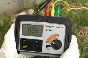 Electrical test equipment | power station to plug | Megger