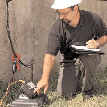 Megger soil testing grounding